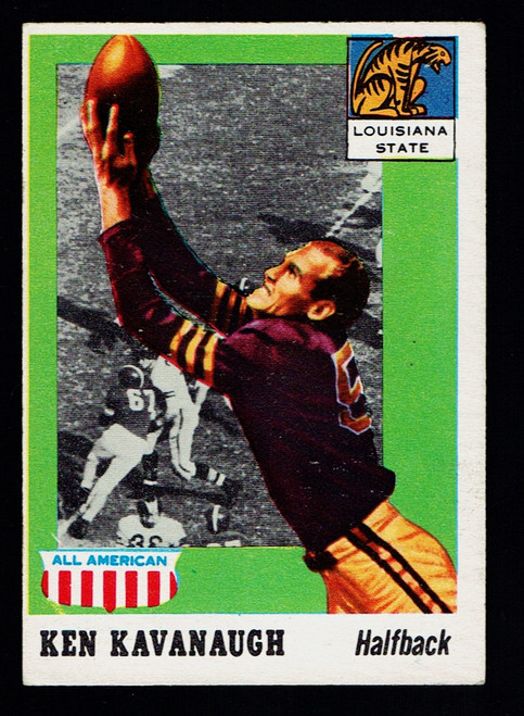 1955 Topps All American #050 Ken Kavanaugh VGEX