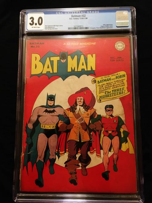 1945 DC Batman #32 CGC  3.0
