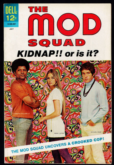1969 Dell Mod Squad #2 VG/FN