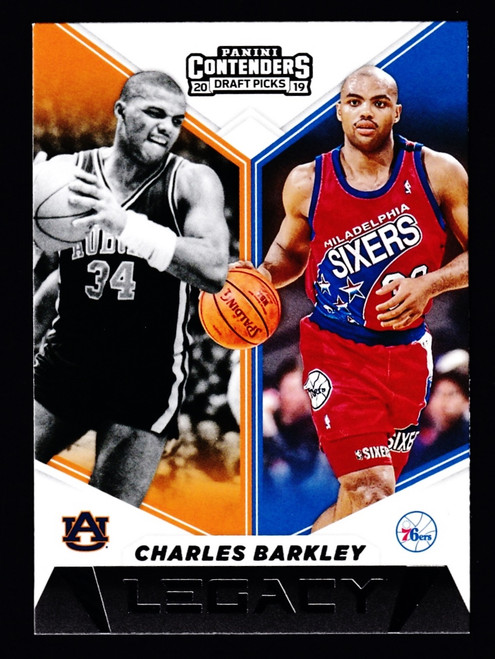 2019 Panini Contenders Draft Picks Legacy #13 Charles Barkley NMMT or Better