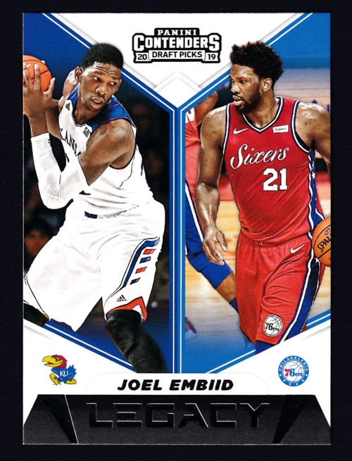 2019 Panini Contenders Draft Picks Legacy #26 Joel Embiid NMMT or Better