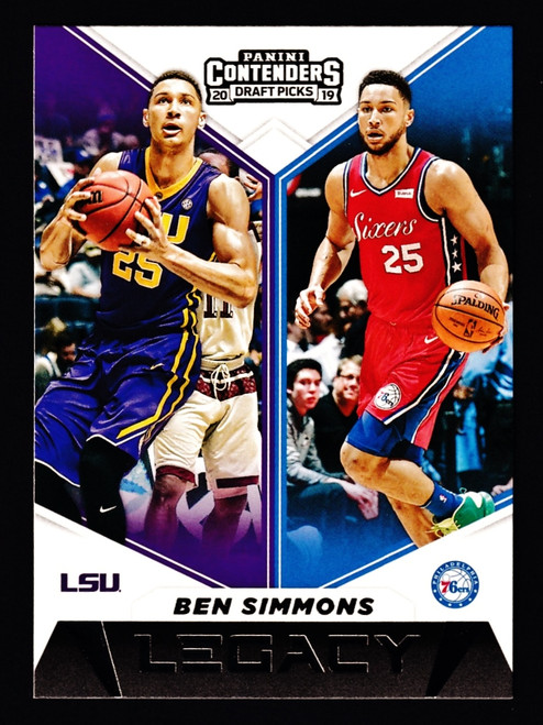 2019 Panini Contenders Draft Picks Legacy #11 Ben Simmons NMMT or Better