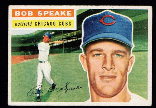 1956 Topps #066 Bob Speake GB EX