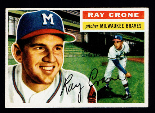 1956 Topps #076 Ray Crone EX+