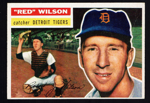 1956 Topps #092 Red Wilson WB VG