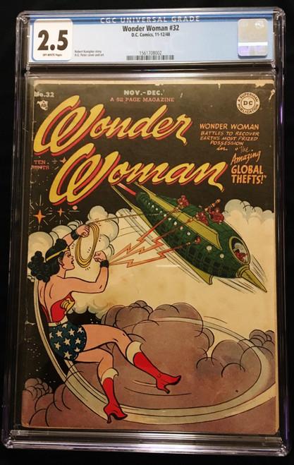 1948 Wonder Woman #32 CGC 2.5