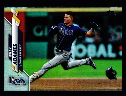 2020 Topps Silver Foil #148 Willy Adames NMMT or Better