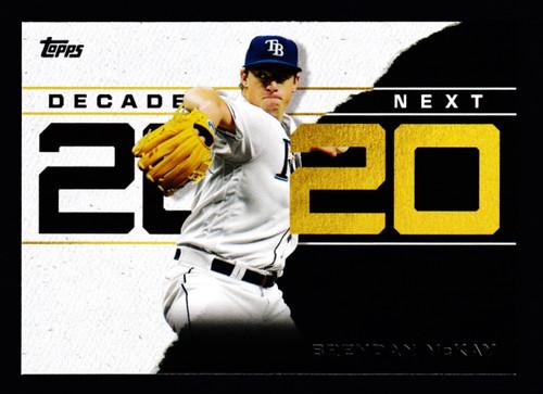 2020 Topps Decades Next #26 Brendan McKay NMMT or Better