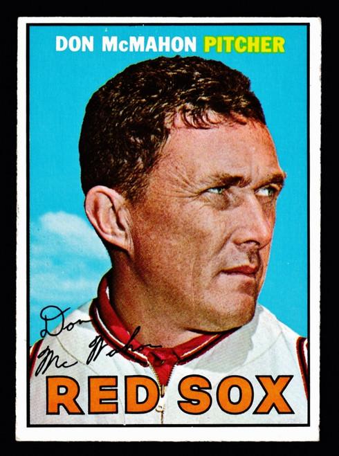 1967 Topps #007 Don McMahon VGEX