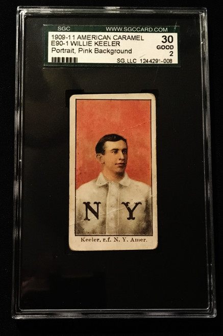 1909 E90-1 Willie Keeler SGC 2