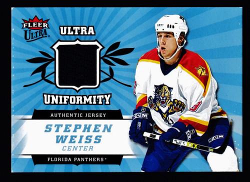 2006 Fleer Ultra Stephen Weiss Jersey EX