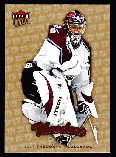 2006 Fleer Ultra Gold Medallion #048 Jose Theodore NMMT or Better