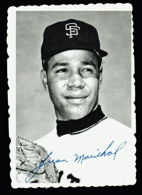 1969 Topps Deckle #32 Juan Marichal VG