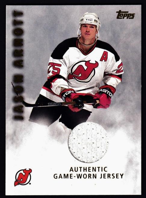 2001 Topps Jason Arnott Jersey NMMT or Better
