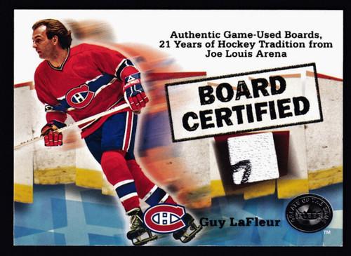 2001 Fleer Greats of the Game Guy  Lafleur Board NMMT