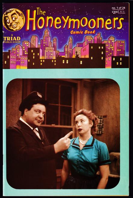 1987 Triad The Honeymooners #1 FN+
