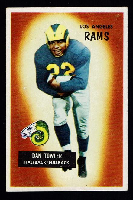 1955 Bowman #47 Dan Towler EX