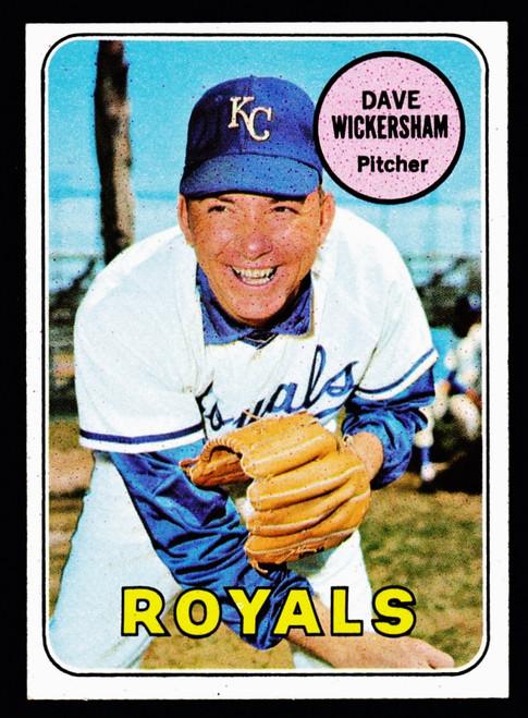 1969 Topps #647 Dave Wickersham NM