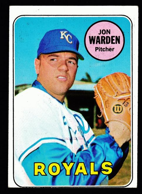 1969 Topps #632 Jon Warden RC GD