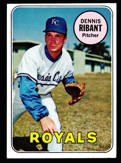 1969 Topps #463 Dennis Ribant EX+