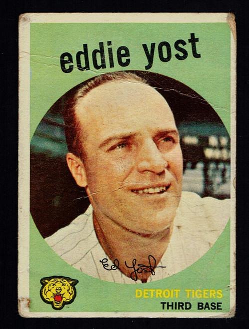 1959 Topps #002 Eddie Yost  Poor