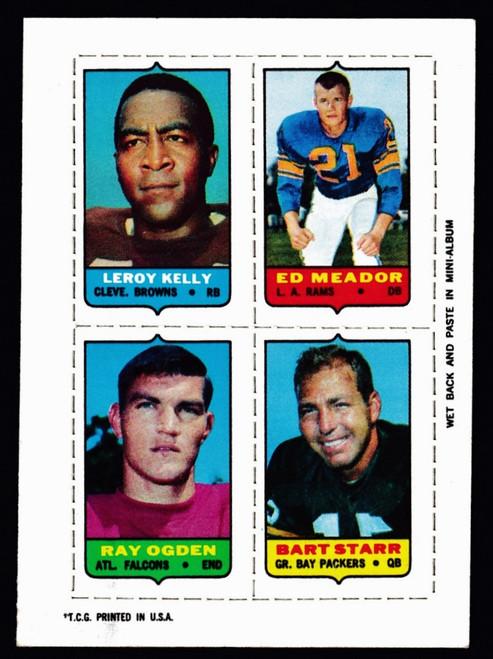1969 Topps 4 in 1 Kelly Meador Ogden Starr EX+