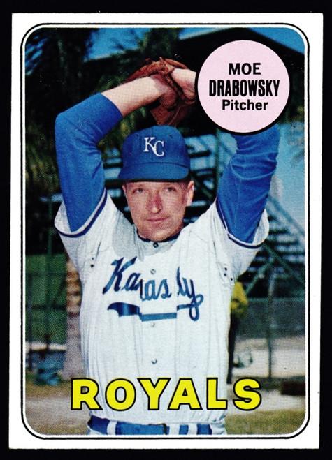 1969 Topps #508 Moe Drabowsky EXMT
