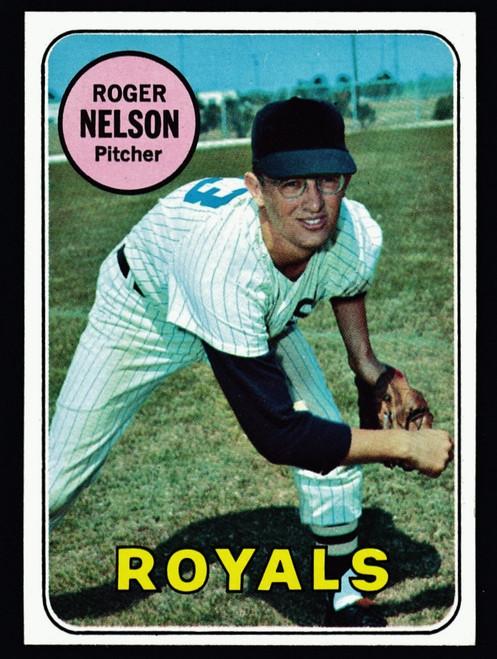 1969 Topps #279 Roger Nelson  NM+