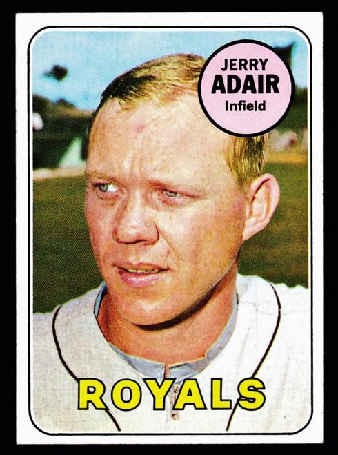 1969 Topps #159 Jerry Adair EXMT