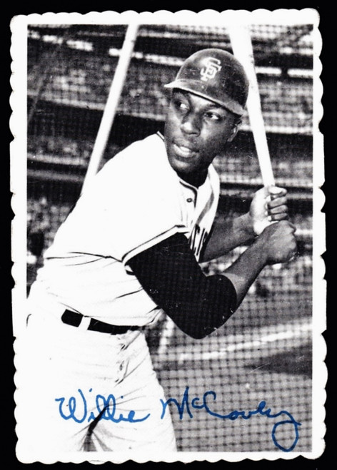 1969 Topps Deckle #31 Willie McCovey VGEX