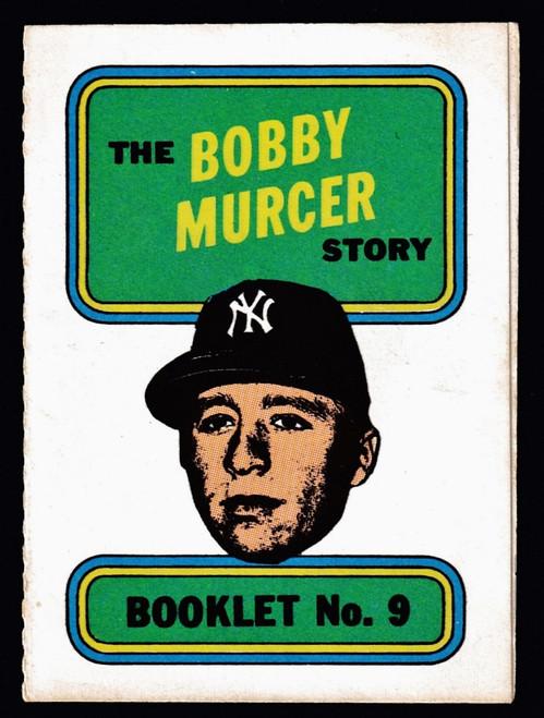 1970 Topps Booklets #09 Bobby Murcer EXMT