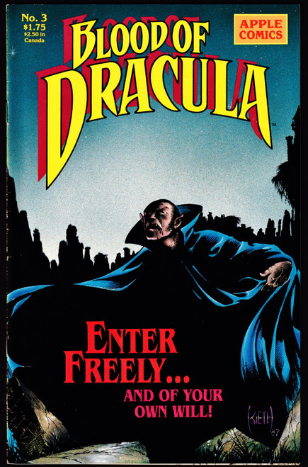 1988 Apple Comics Blood Dracula #3 VF-