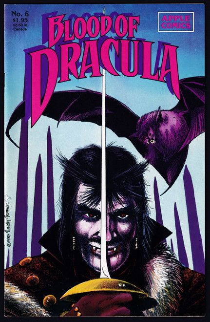 1988 Apple Comics Blood Dracula #6 VF-
