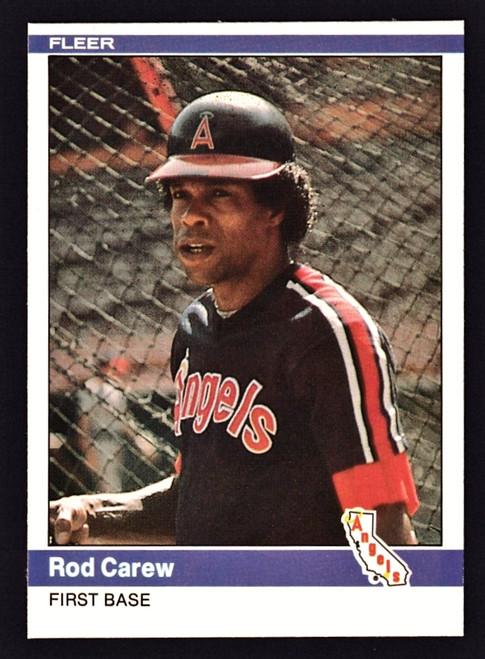 1984 Fleer #511 Rod Carew NM
