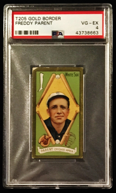 1911 T205 Freddy Parent Piedmont PSA 4