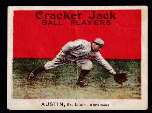 1914 Cracker Jack #040 Jimmy Austin Poor