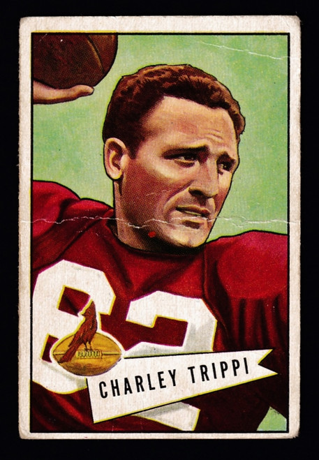 1952 Bowman Small #012 Charley Trippi Poor