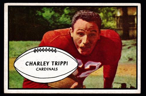 1953 Bowman #17 Charley Trippi VGEX