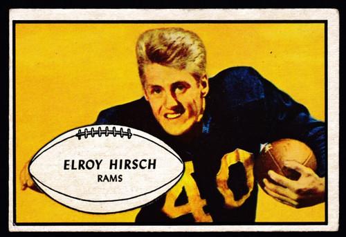 1953 Bowman #22 Elroy Hirsch VG+