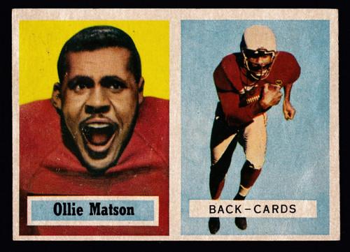 1957 Topps #026 Ollie Matson GD