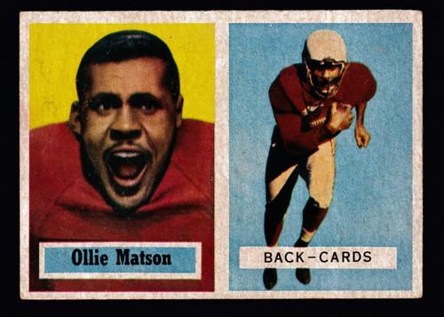 1957 Topps #026 Ollie Matson VGEX B
