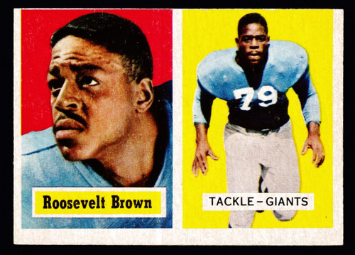 1957 Topps #011 Roosevelt Brown GD