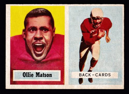 1957 Topps #026 Ollie Matson EX