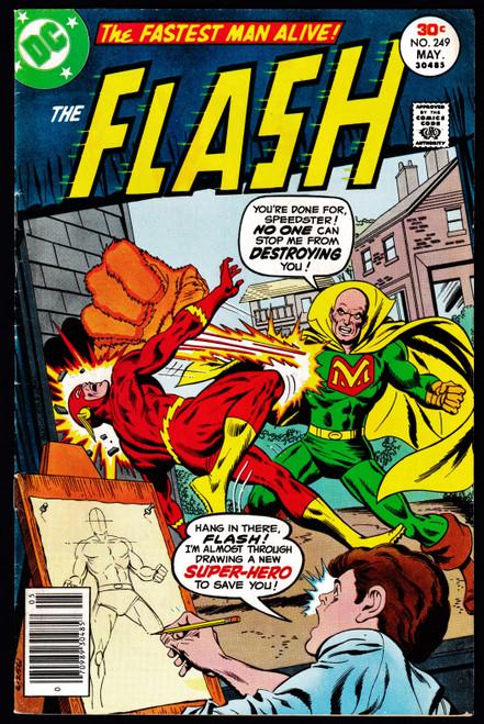 1977 DC Flash #249 VG+