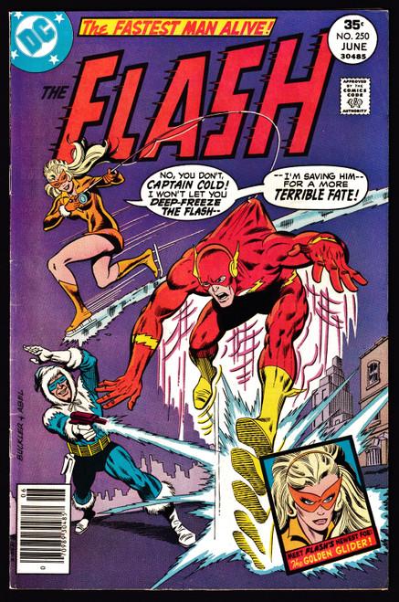 1977 DC Flash #250 FN+ 1st Appearance Golden Glider