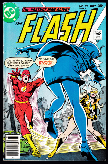 1977 DC Flash #251 FN-