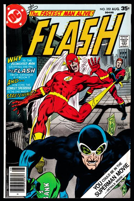 1977 DC Flash #252 FN-