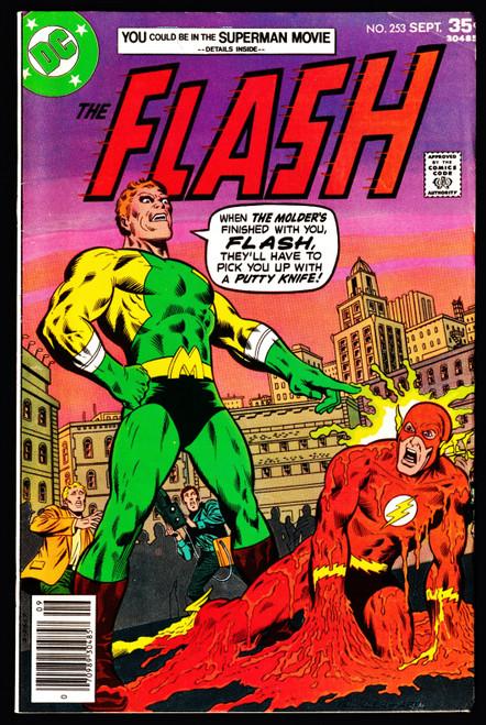 1977 DC Flash #253 FN-