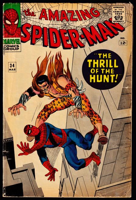 1965 Marvel Amazing Spider-Man #34 VG-