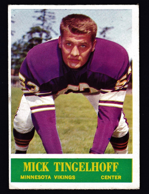 1964 Philadelphia #110 Mick Tinglehoff RC VGEX